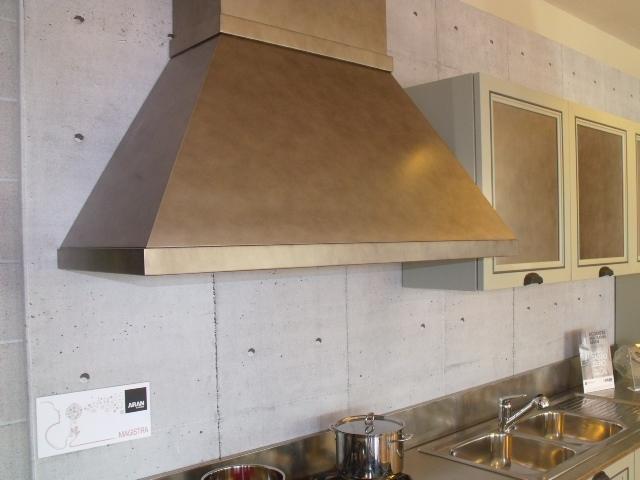 Cucina aran cucine magistra scontato del 54 cucine a - Cappe in rame per cucine ...