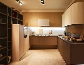 Cucina Aran cucine moderna ad angolo bianca in laccato opaco Erika