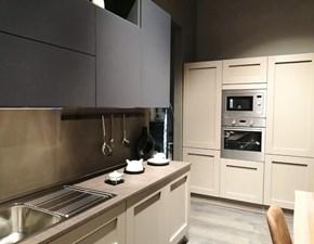 Cucina Aran cucine moderna ad angolo tortora in legno Licia/volare