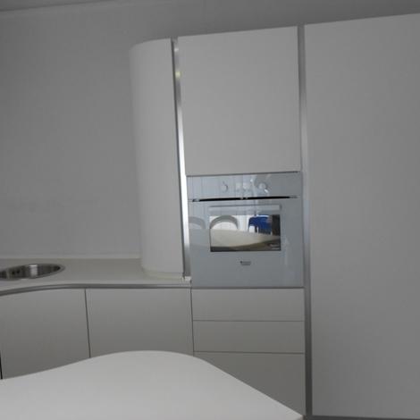 Cucina aran cucine volare moderna laccato opaco bianca - Aran cucine torino ...