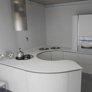 cucina aran cucine volare moderna laccato opaco bianca
