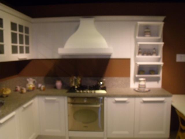 Cucina aran cucine ylenia country legno bianca   cucine a prezzi ...