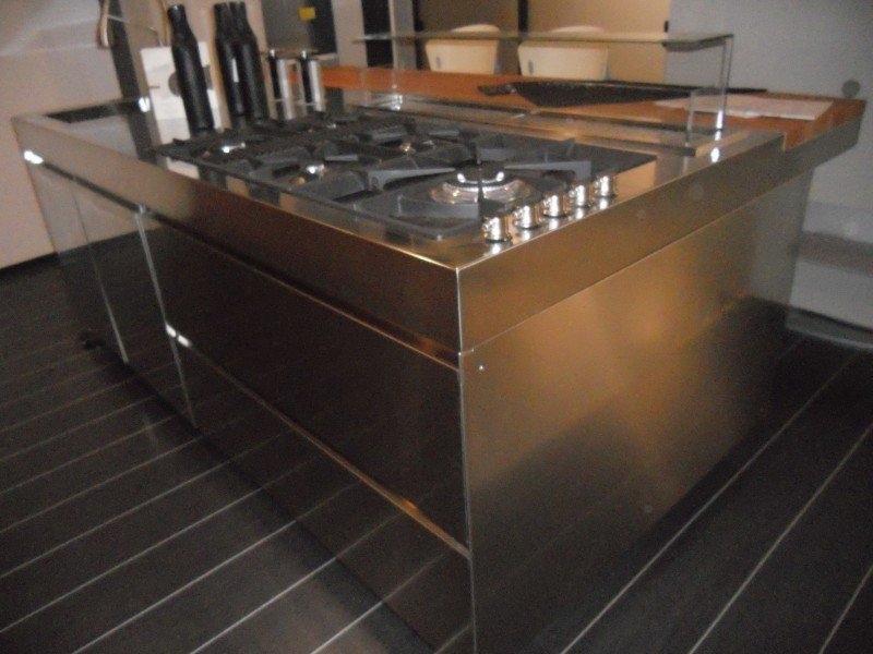 Piano Cucina Acciaio Inox. Finest Zoom With Piano Cucina Acciaio ...