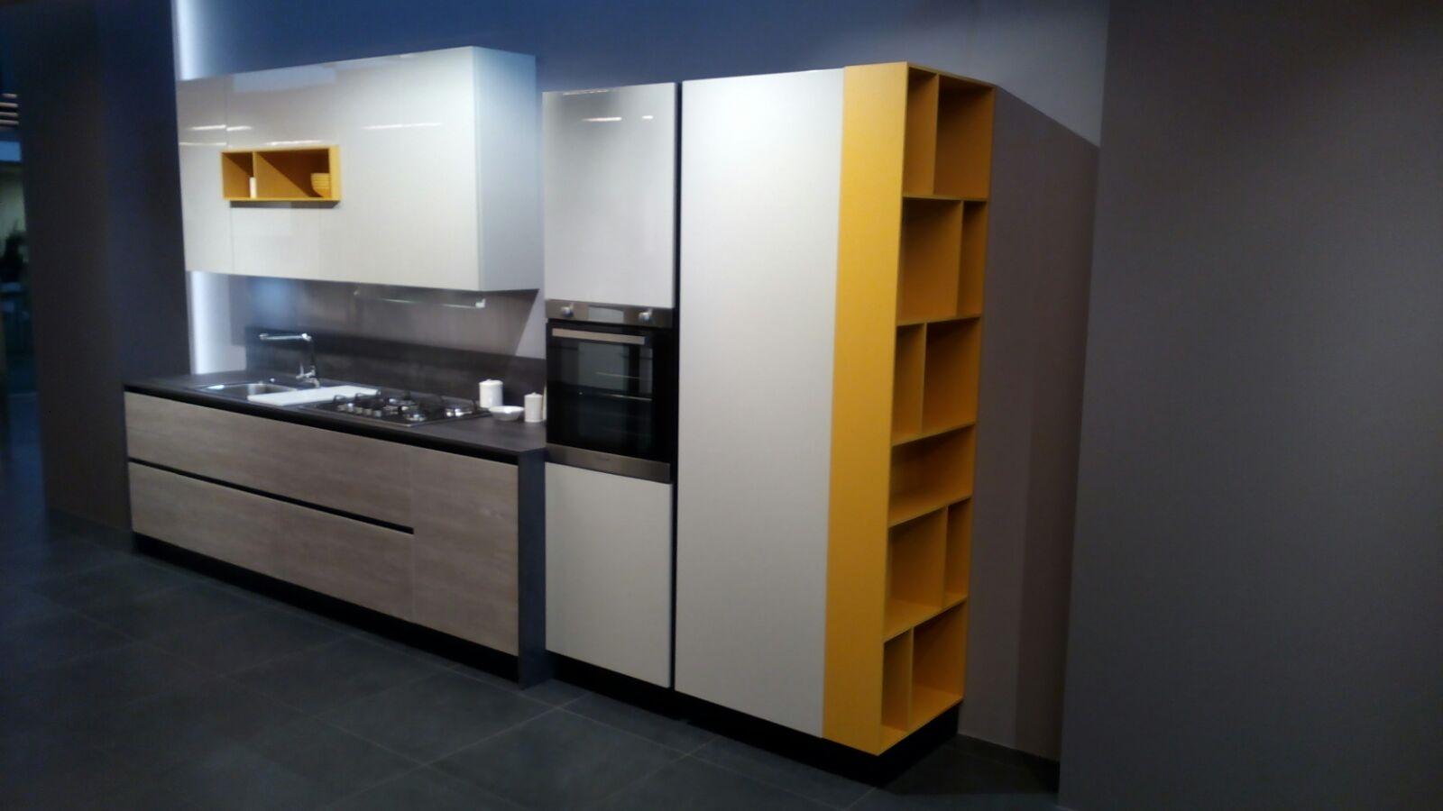 Arredo3 cucina round moderno laminato materico cucine a - Cucine arredo 3 prezzi ...