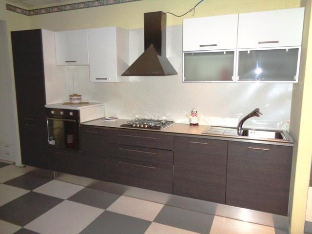 arredo3 cucina cucina siria arredo 3 rovere grigio bianco lucido moderna polimerico lucido