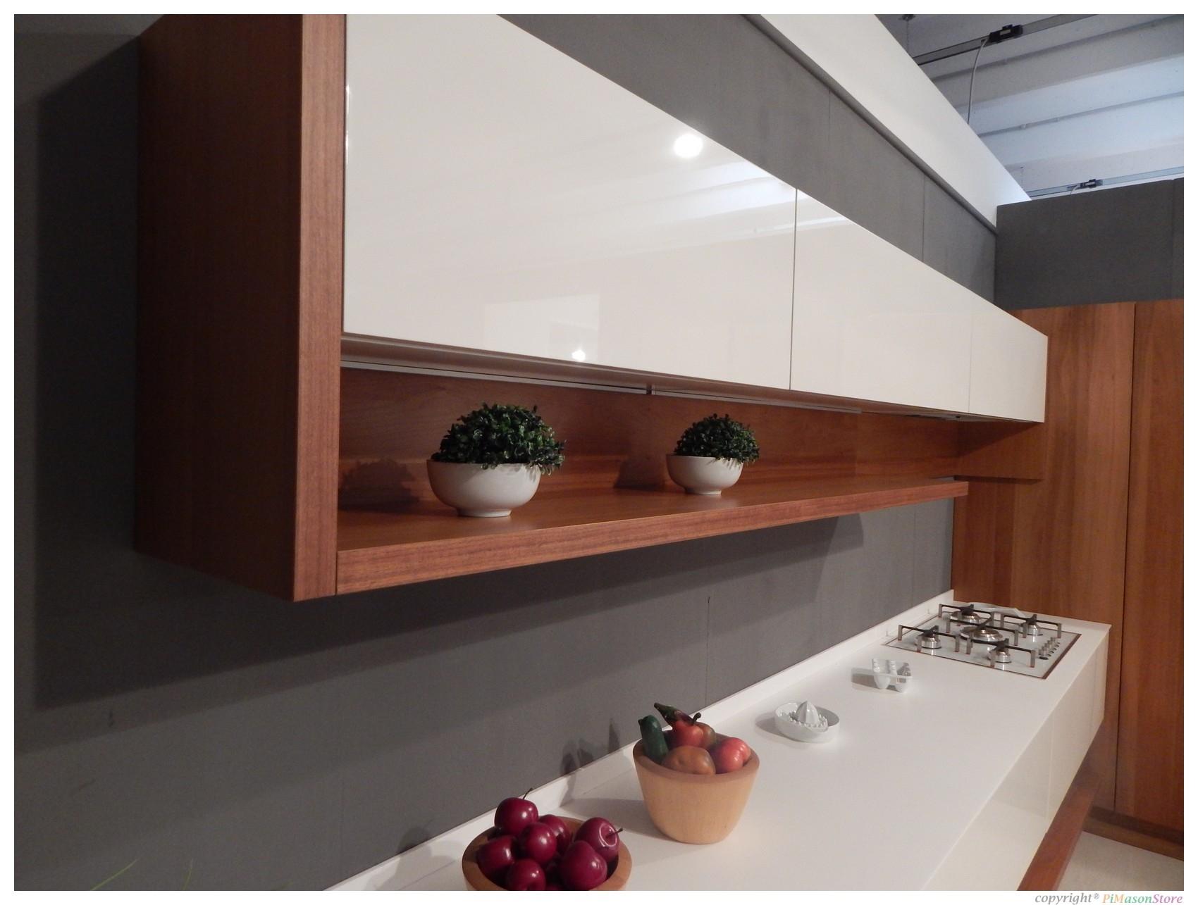 Cucina arredo3 domus moderno legno noce cucine a prezzi for Domus arredo