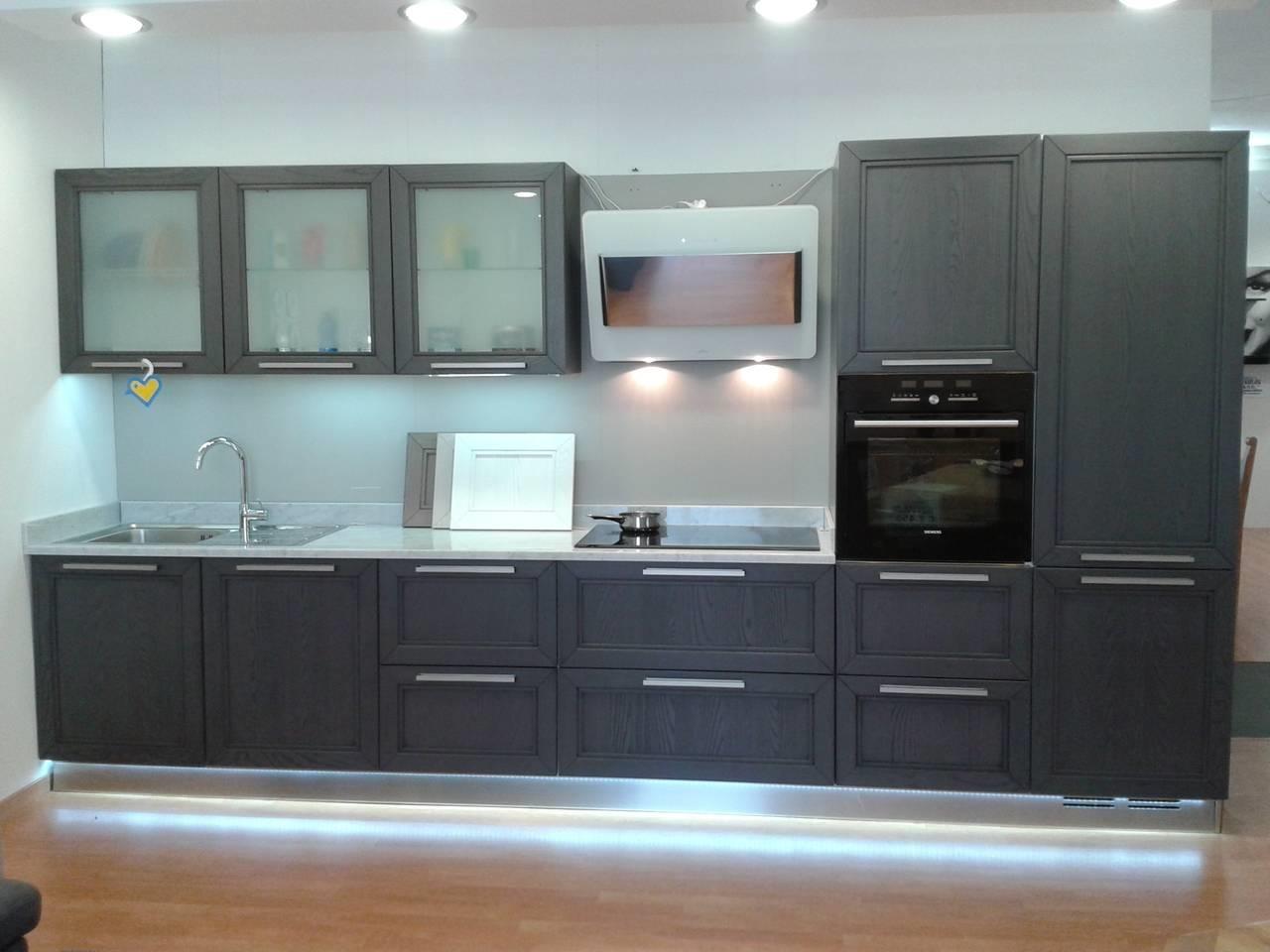 Cucina arredo3 itaca scontato del 60 cucine a prezzi - Cucina lineare 3 metri senza frigo ...