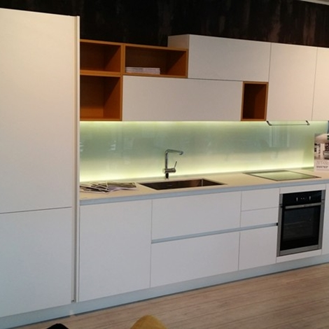 Cucina arredo3 kali laminato bianco seta design laminato opaco cucine a prezzi scontati - Cucina arredo3 kali ...