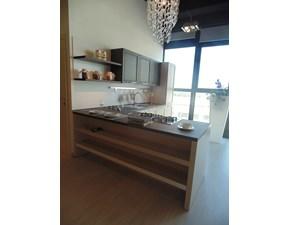 Cucina Arredo3 moderna con penisola altri colori in legno Itaca