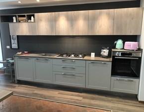 Cucina Arredo3 moderna lineare altri colori in laminato materico Frame