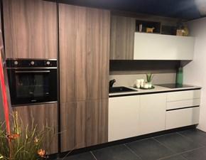 Cucina Arredo3 moderna lineare altri colori in legno Cloe