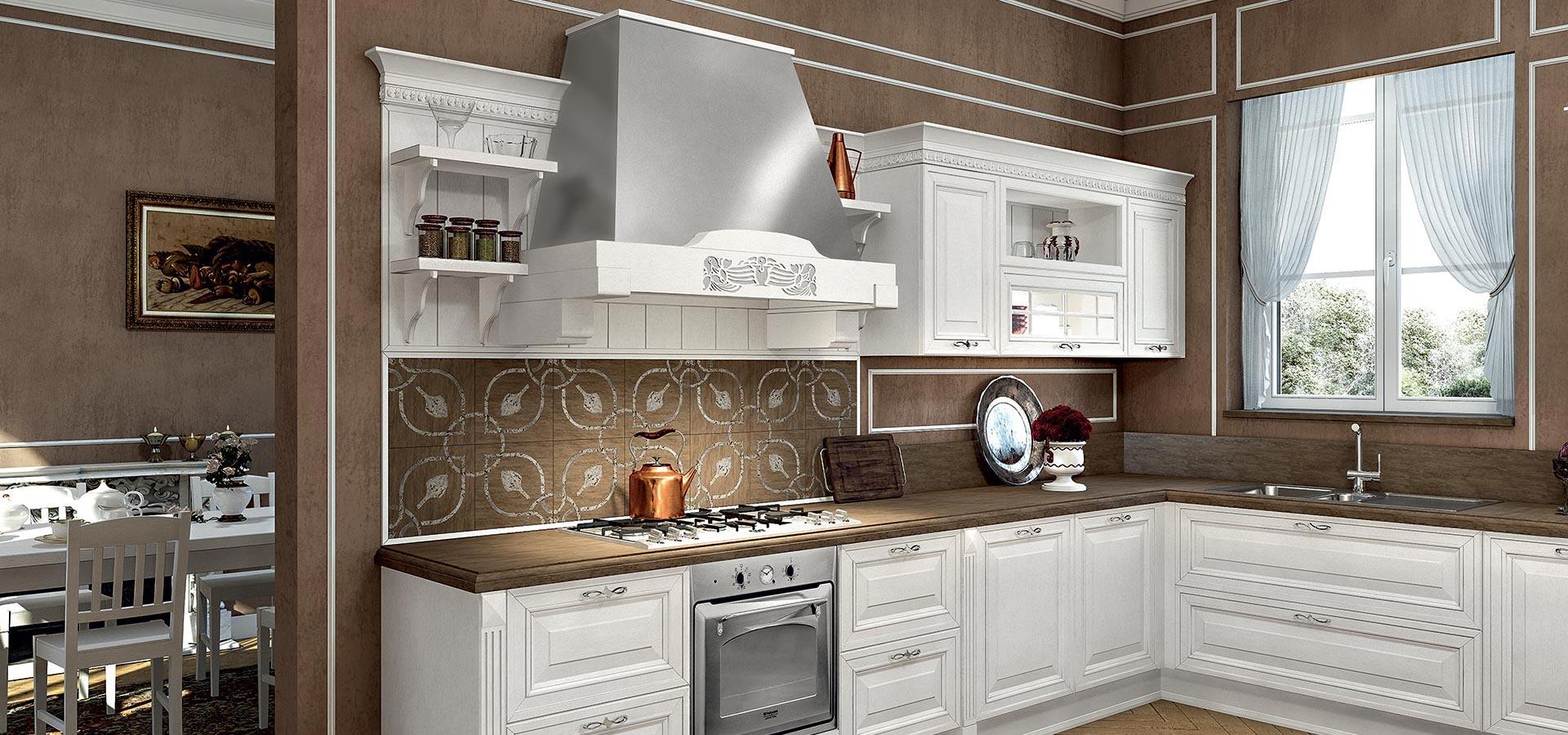 Arredo 3 cucine modello viktoria provenzale legno cucine for Cucine arredo tre