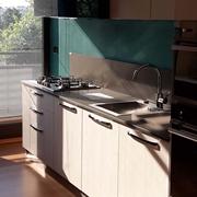 Cucina lineare Wood Arredo3