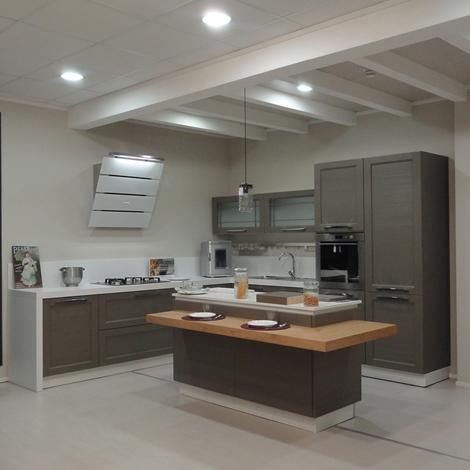 Cucina arrex 1 bianca inglese legno neutra cucine a prezzi scontati - Cucina bianca legno ...