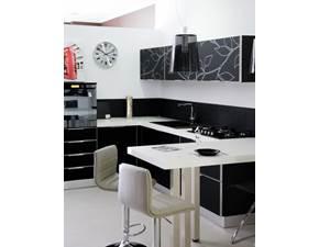 Cucina Arrex-1 Cristallo Design Vetro Neutra