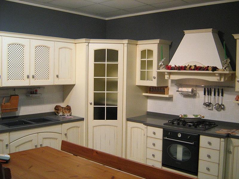 Cucina arrex 1 morgana classica scontata del 50 - Cucina componibile prezzi ...