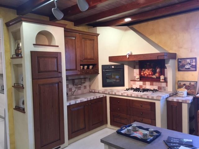 Cucina arrex 1 nora classiche legno cucine a prezzi scontati - Cucine in legno classiche ...