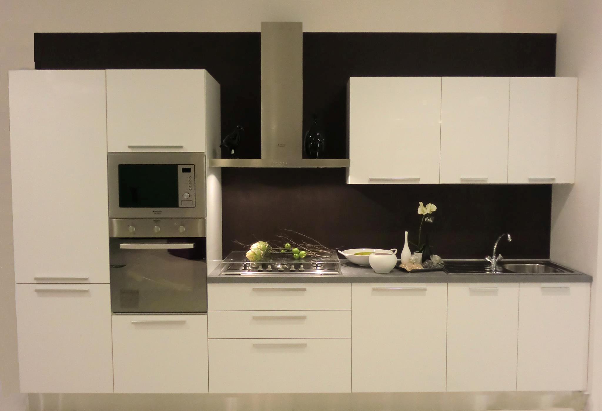 Cucina arrex 1 timo laccato lucido cucine a prezzi scontati - Cucine componibili bianche ...