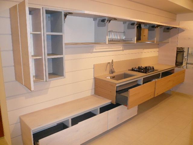 Cucina arrex 1 zenzero moderna legno rovere chiaro for Arrex zenzero