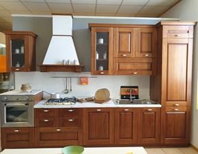 Cucina Arrex classica lineare noce in legno Cucina noce classica lineare nora legno arrex