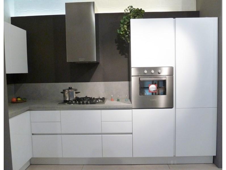 Cucina Arrital cucine Ak_03 bianca lucida a prezzo scontato