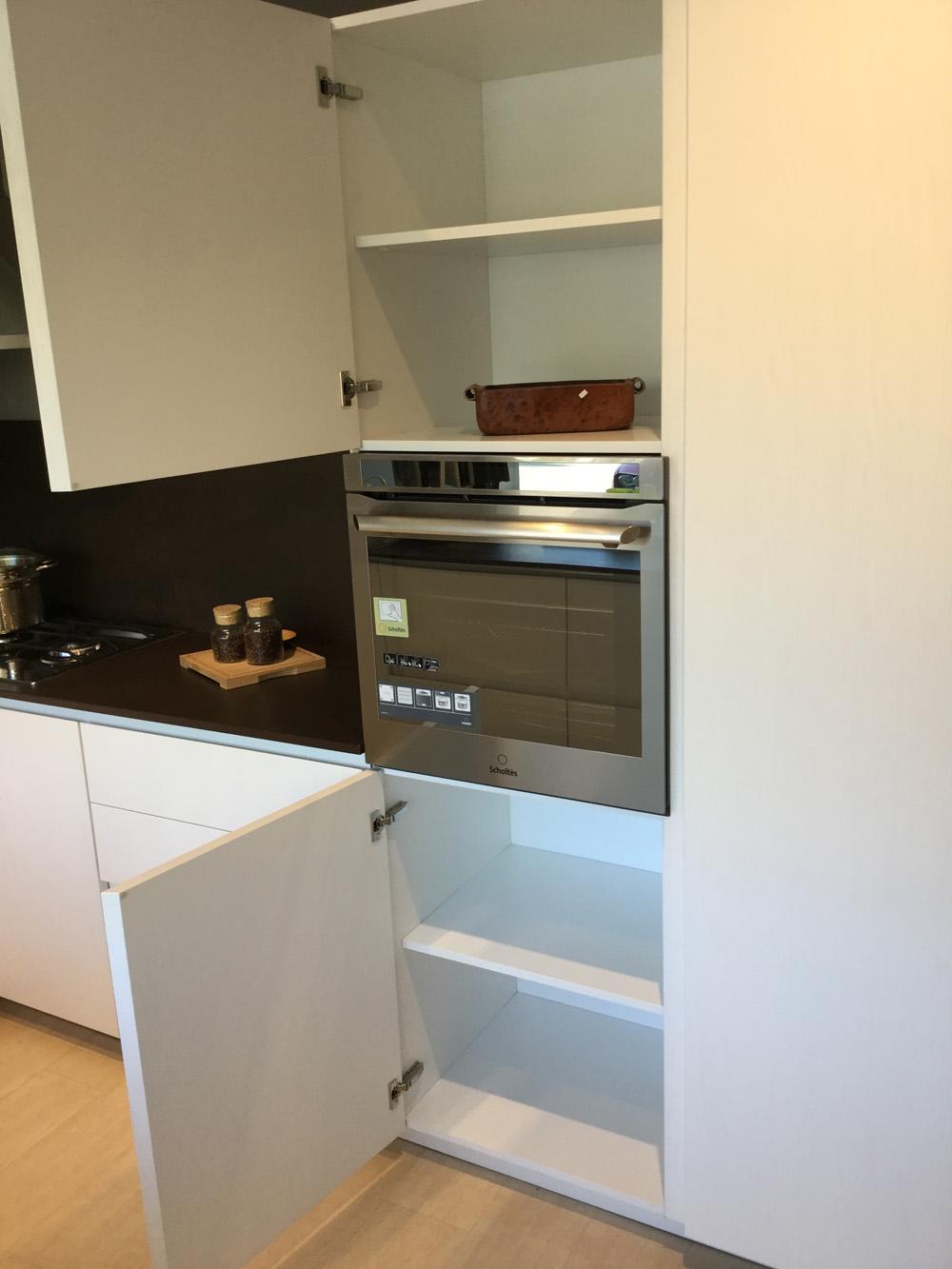 Cucina arrital cucine bianca e cemento moderna legno bianche cucine a prezzi scontati for Piano cucina in cemento