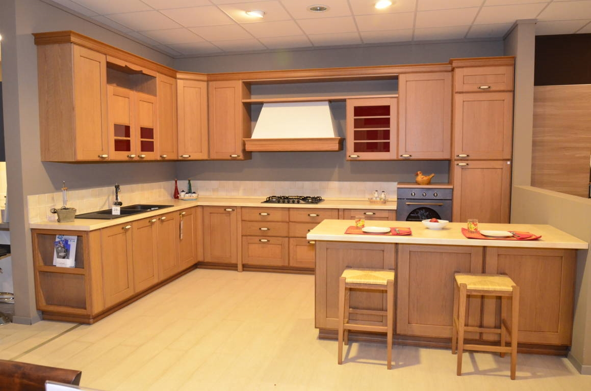 Cucina arrital cucine dalyla rovere scontato del 50 cucine a prezzi scontati - Cucine arrital prezzi ...