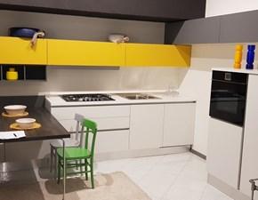 Cucina Arrital cucine moderna ad angolo bianca in laccato opaco Arrital