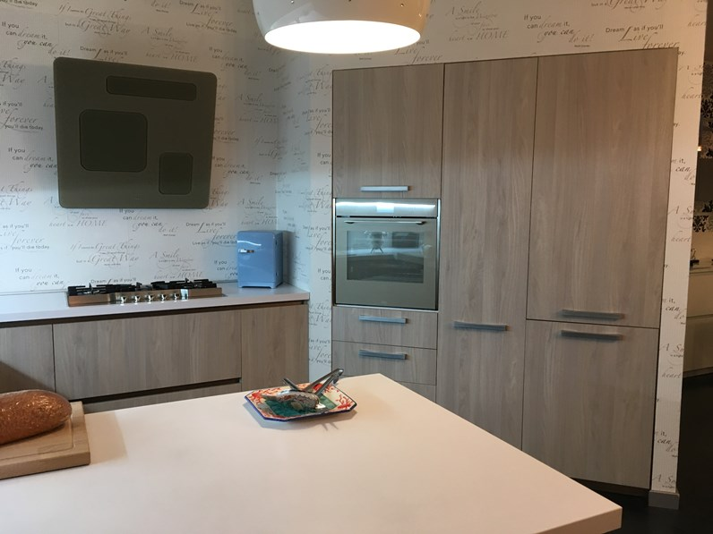 Cucina Arrital cucine moderna ad angolo Ak02 Offerta Outlet