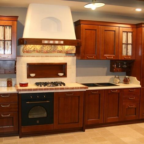 Cucina in muratura nello stile arte povera car interior - Arte povera cucine ...