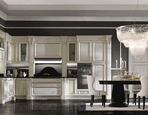 Cucina Artigianale classica ad angolo altri colori in legno Canova