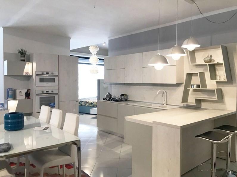 Torchetti Cucine Moderne.Cucina Artigianale Con Penisola Vega Scontata