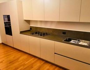 Cucina Artigianale design lineare bianca in laccato opaco London-paolo biordi design