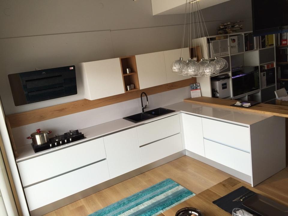 Cucina artigianale frassino bianco completa cucine a prezzi scontati - Cucina completa prezzi ...