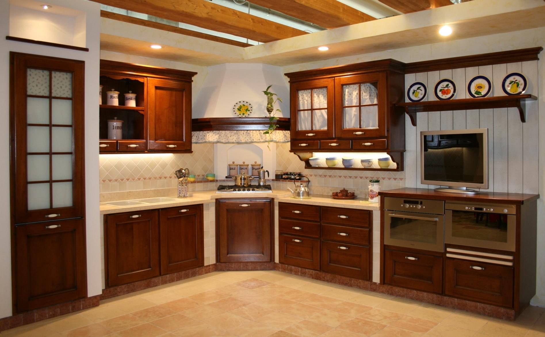 Cucine - Rivestimento cucina in muratura ...
