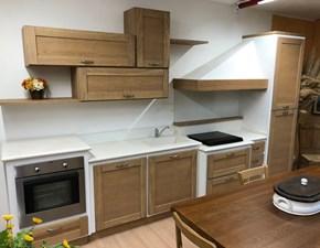 CUCINA Artigianale lineare Cucina artigianale legno moderna  SCONTATA