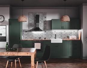 Cucina Artigianale moderna lineare altri colori in legno Mobilike sansa