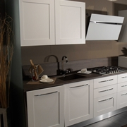 Cucina Artre Frame Country Bianca