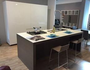 Cucina Assim design bianca ad isola Euromobil