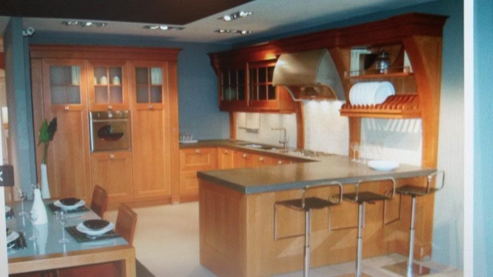 Cucina aster cucine palladio classica legno neutra cucine a prezzi scontati - Cucine aster prezzi ...