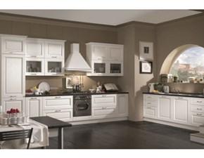 Cucina Astra classica lineare bianca in nobilitato Aurora
