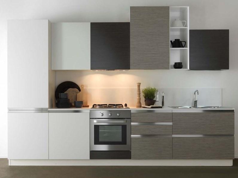Cucina astra cucine combi laminato bambu 39 moderna - Bruni cucine sora ...