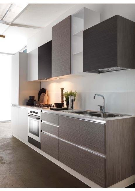 Cucina astra cucine combi laminato bambu 39 moderna cucine for Cucina moderna 330