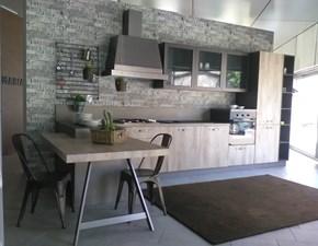 CUCINA Astra cucine con penisola Industrial SCONTATA