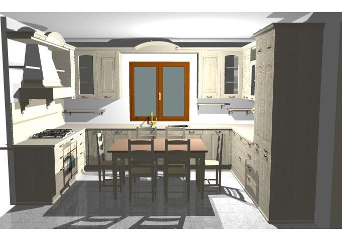 Cucina astra cucine ducale classico legno massello cucine a prezzi scontati - Cucine legno massello ...