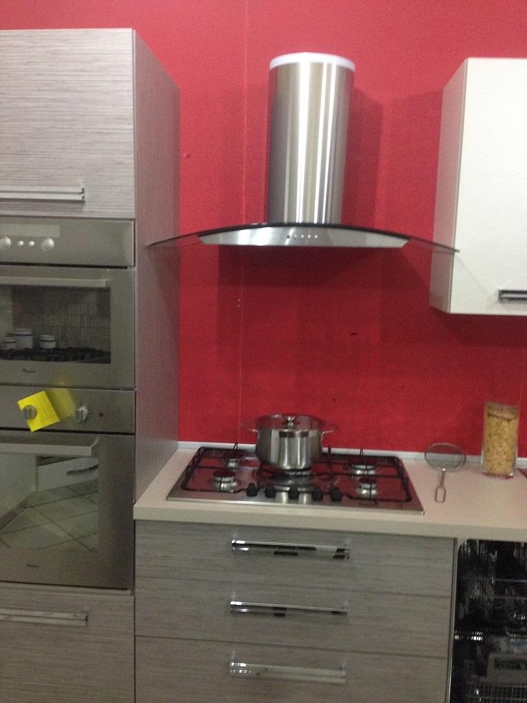 cucina astra modello iride piano cottura elettrolux