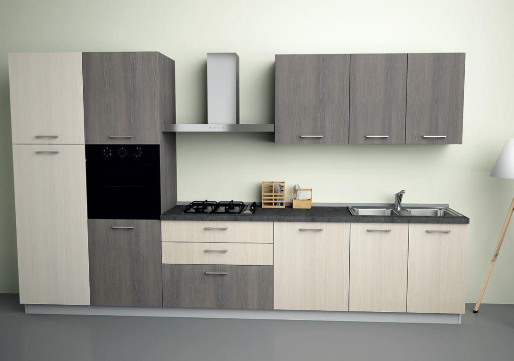 Cucina astra cucine iride olmo moderna laminato opaco - Laminato in cucina ...