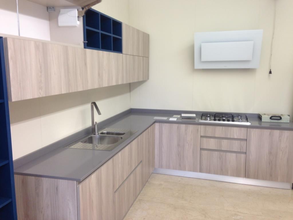 Cucina astra cucine modello line moderna anta laminato wood cucine a prezzi scontati - Laminato in cucina ...