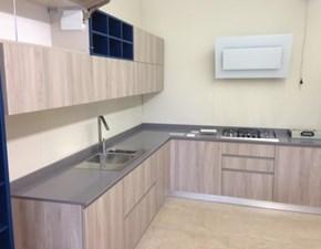 cucina Astra Cucine modello line moderna anta laminato wood