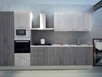 Cucina Astra Cucine Sp 22 Moderna Laminato Opaco bianche